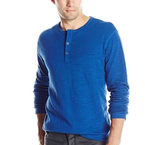 d2569f7d Lucky Brand Shirts | Duofold Cobalt 3 Button Henley Top Xl | Poshmark